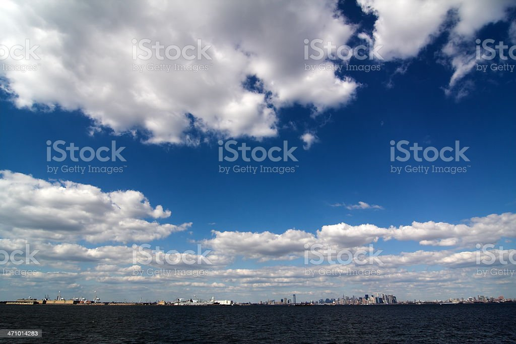 Wide-angle Horizon royalty-free stock photo