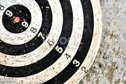 istock widely used target with red center 518141524