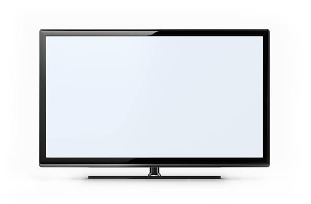 widescreen hd tv - flat screen stock photos and pictures