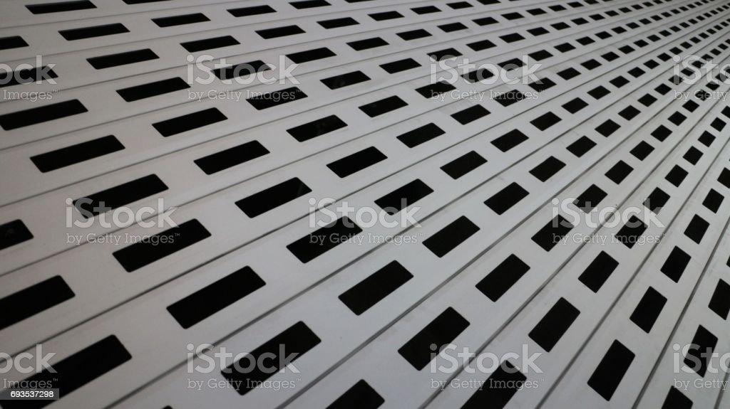 Padrão de obturador loja widescreen - foto de acervo