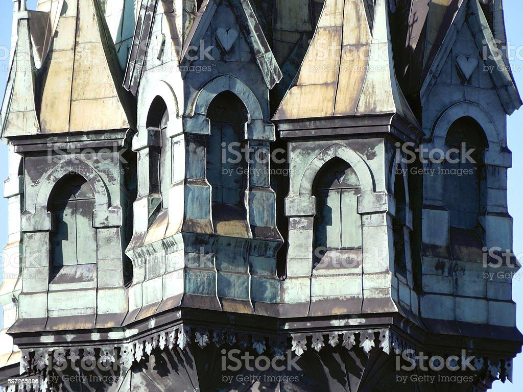 Wieża kościoła royalty-free stock photo