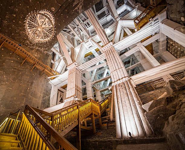 Wieliczka Salzbergwerk in Polen – Foto