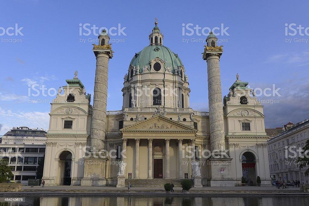 Wien, Vienna, Vindobona, Karlsplatz, Europe, Osterreich, Musik Verein stock photo