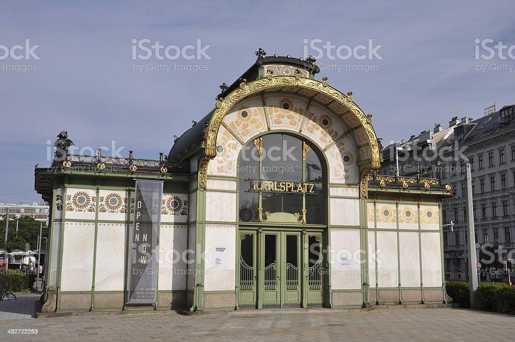Wien, Vienna, Vindobona, Karlsplatz, Europe, Osterreich stock photo