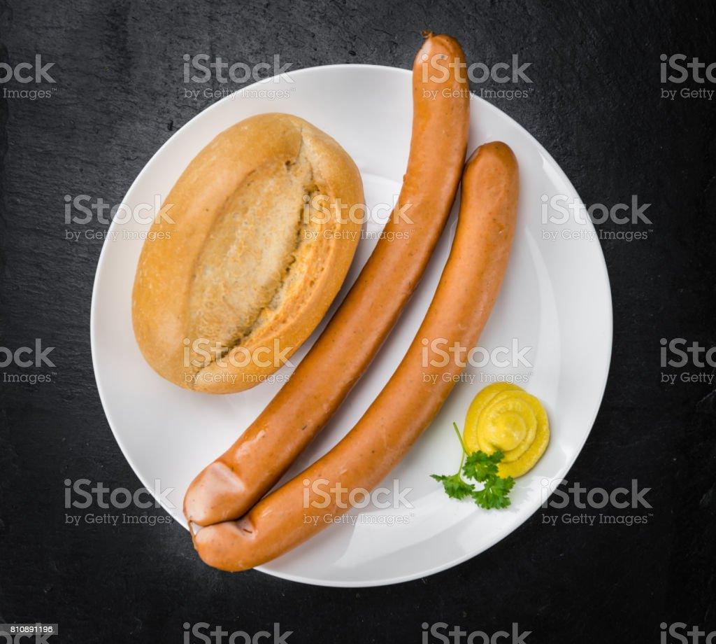 Wiener Würstchen (Tiefenschärfe) – Foto