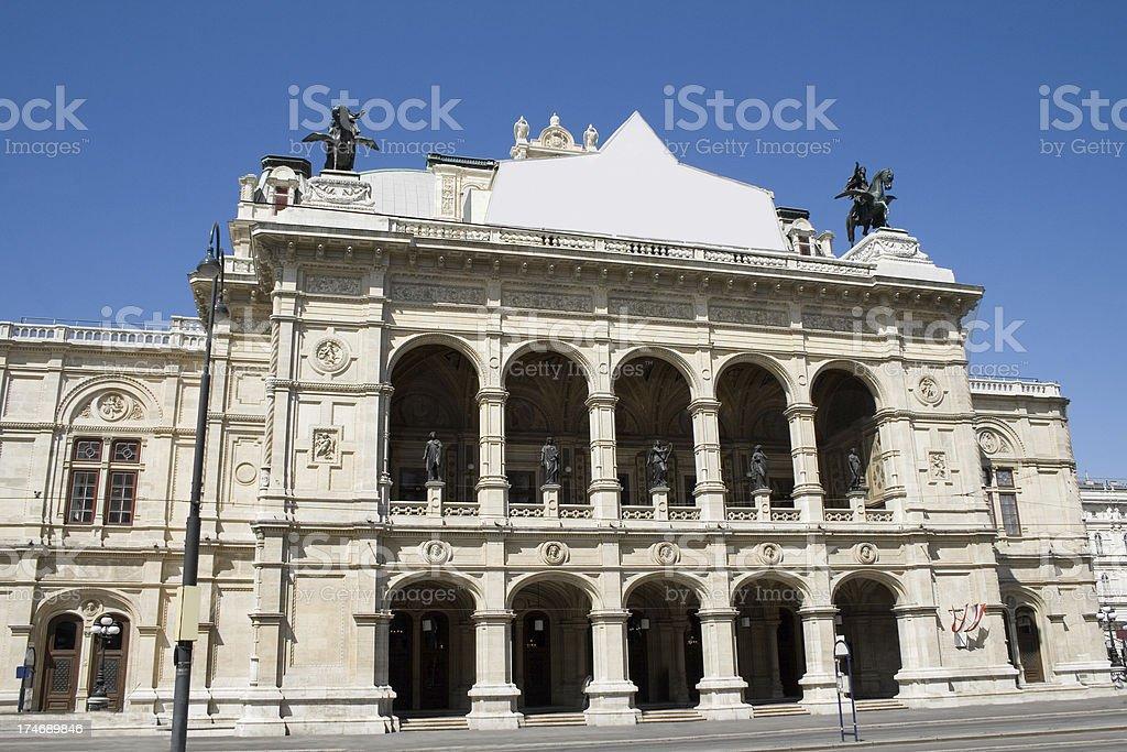 Wiener Staatsoper royalty-free stock photo