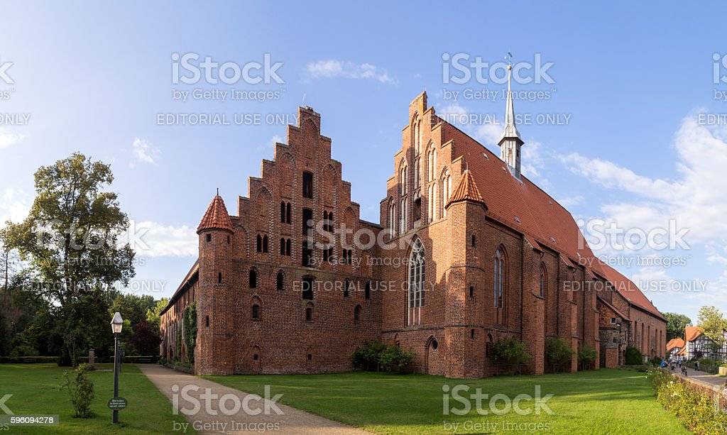 Wienhausen Abbey at Celle, Germany royalty-free stock photo