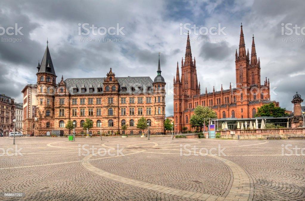 Wiesbaden, Germany stock photo