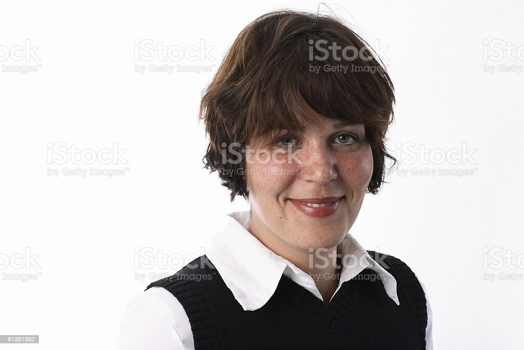 Frau royalty-free stock photo