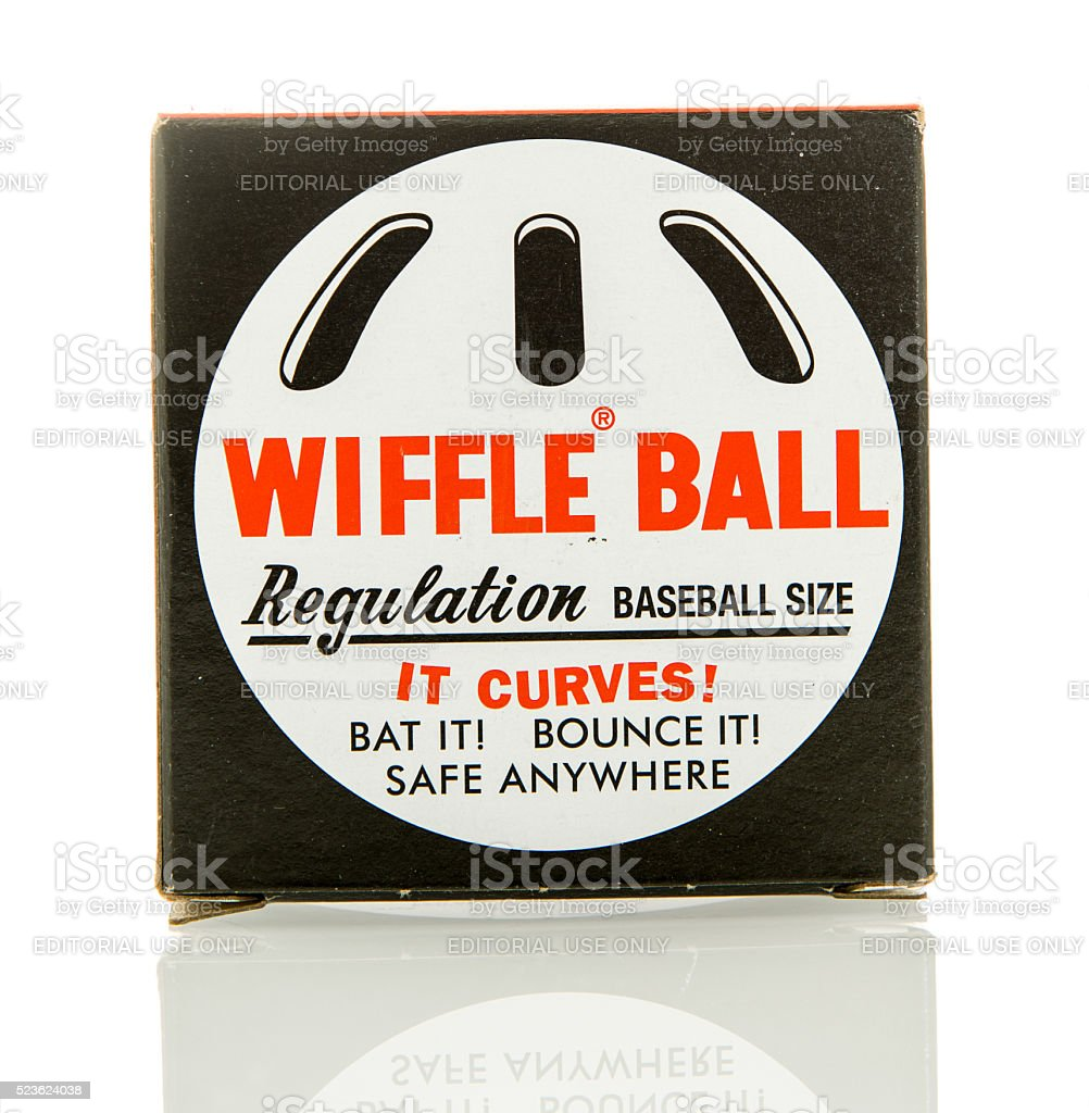 Wiffle Ball stock photo