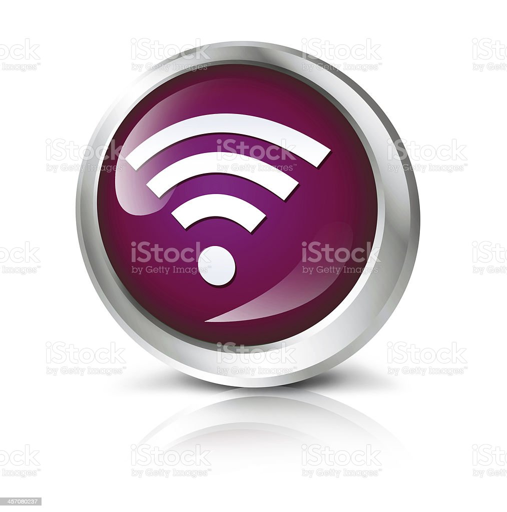 Wifi icon royalty-free stock photo