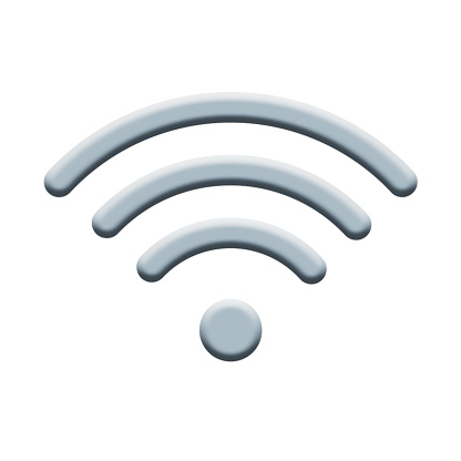 istock Wifi Internet Sign Icon. Wi-fi Wireless Technology Isolated On Whit Background 1125886062