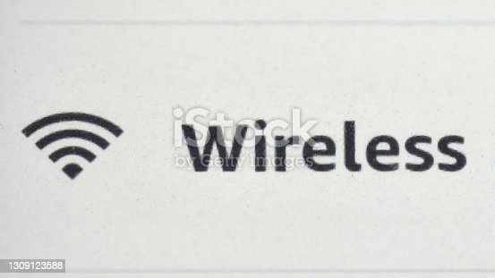 Wifi Network Connection Toggled On and Off on Mobile Device Touchscreen