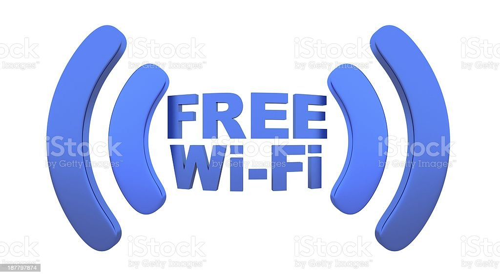 Wi-fi royalty-free stock photo