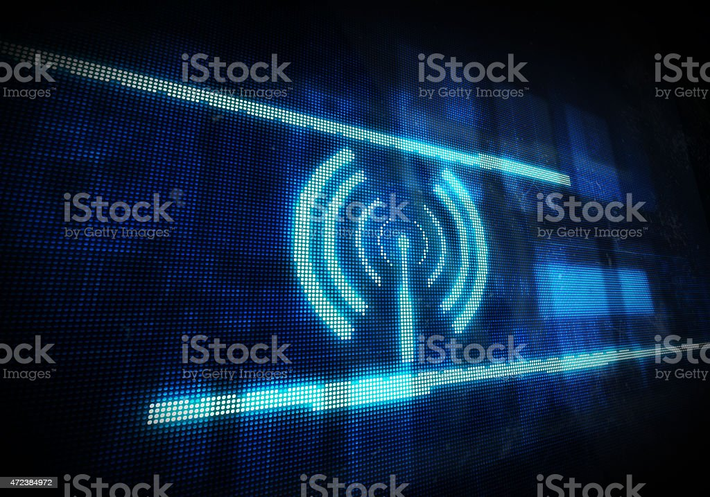 Wifi stock photo
