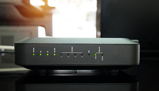 Wifi Router Stockfoto en meer beelden van Apparatuur