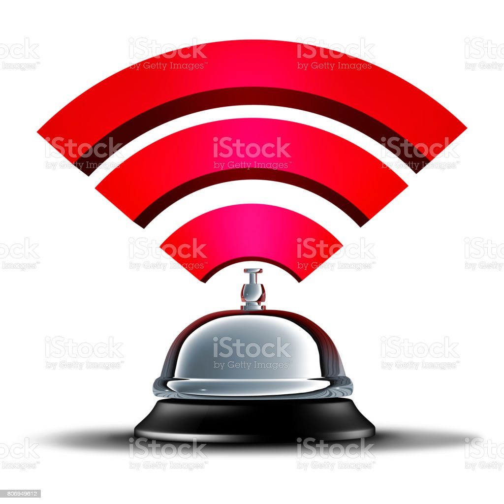 Wifi Service stock photo