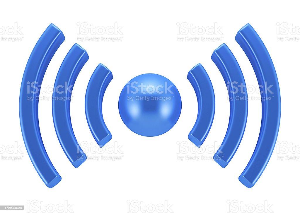 WiFi symbol royalty-free stock photo