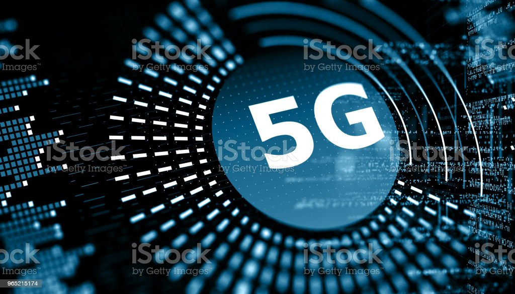 5G wifi technology digital concept royalty-free stock photo