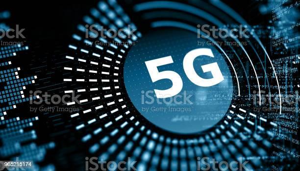 5g Wifi Technology Digital Concept - Fotografie stock e altre immagini di 5G