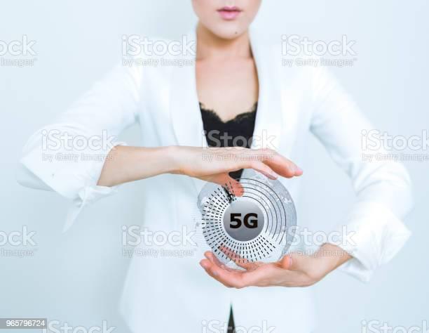 5g Wifi Technology Digital Concept - Fotografias de stock e mais imagens de 5G