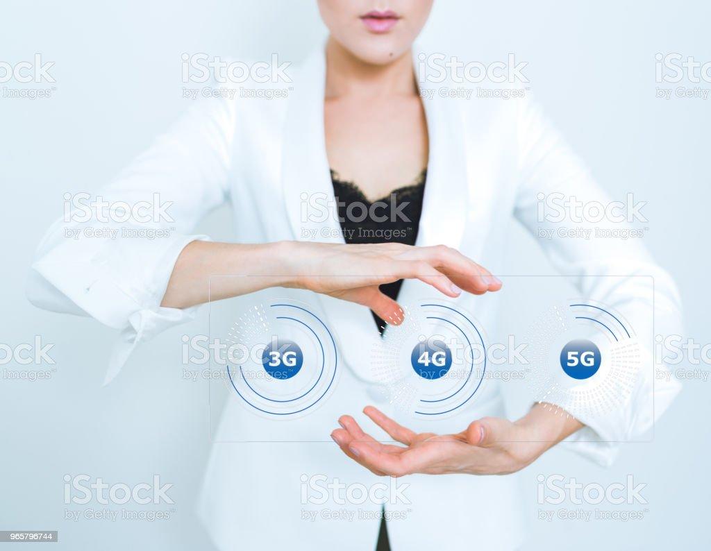 5G wifi technology digital concept - Стоковые фото 5G роялти-фри