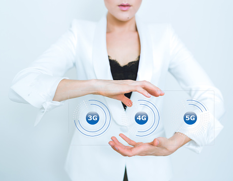 5g Wifi Technology Digital Concept — стоковые фотографии и другие картинки 5G