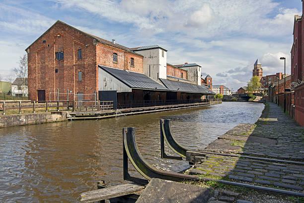 Wigan Pier stock photo