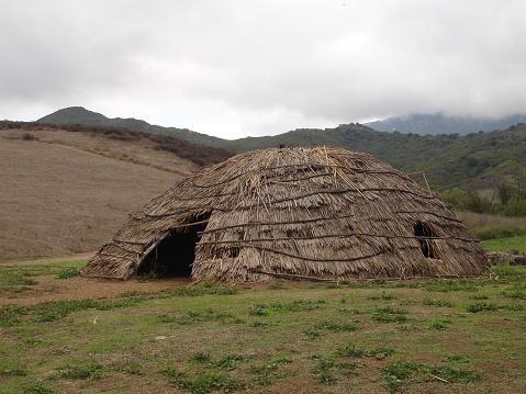 Indian home on Rancho Satwiwa in Newbury Park, CA