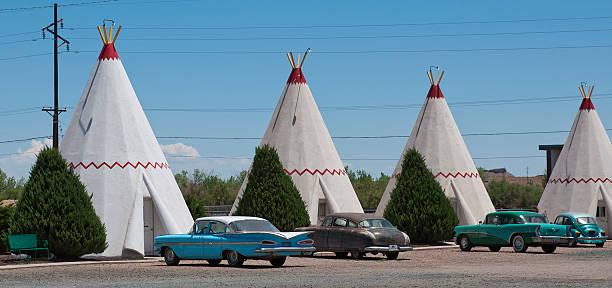 Wigwam Motel en la Route 66 - foto de stock