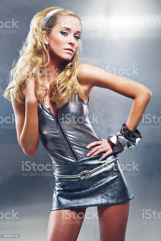 Wiinter Glamour stock photo