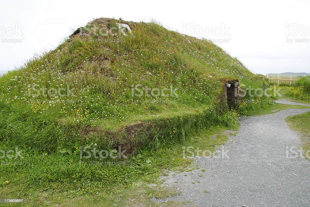 Wiking house royalty-free stock photo