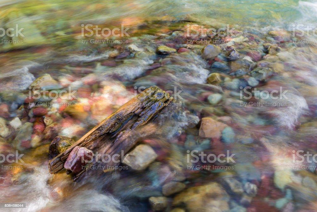 Wilbur Creek River Rocks Stock Photo - Download Image Now