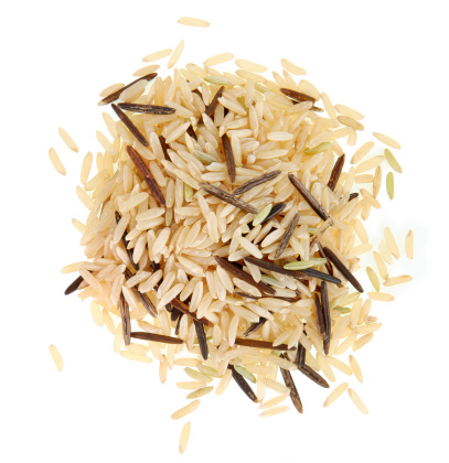 Wild And Brown Rice Stock Photo - Download Image Now