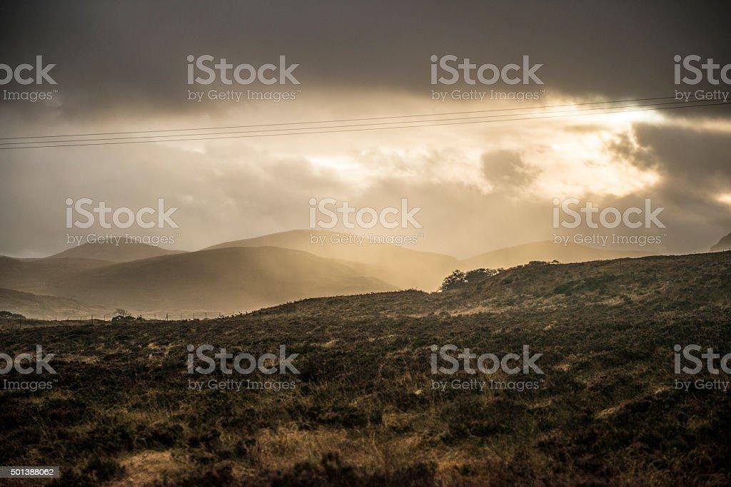 Wild Atlantic Way, Donegal, Ireland stock photo