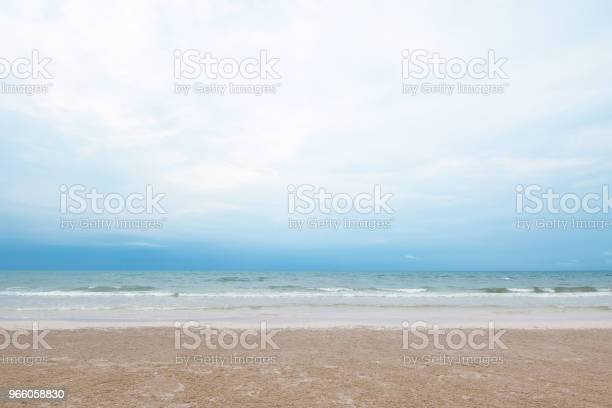 Wild Beach Background Stock Photo - Download Image Now
