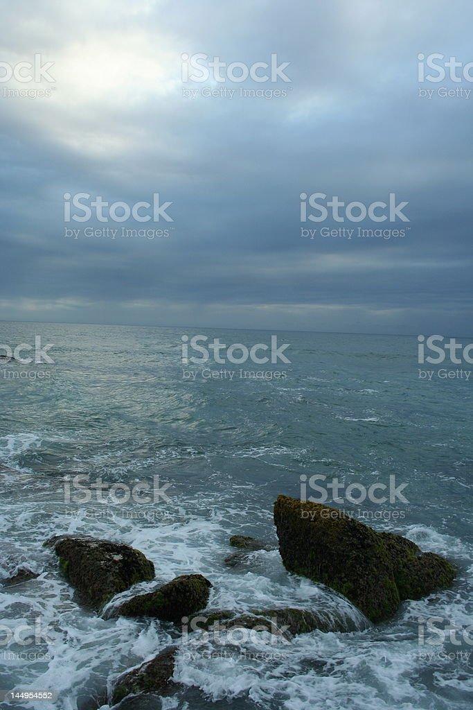 Wild Coast royalty-free stock photo