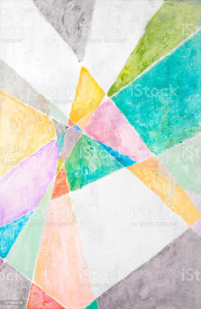 Wild Colorful Abstract stock photo