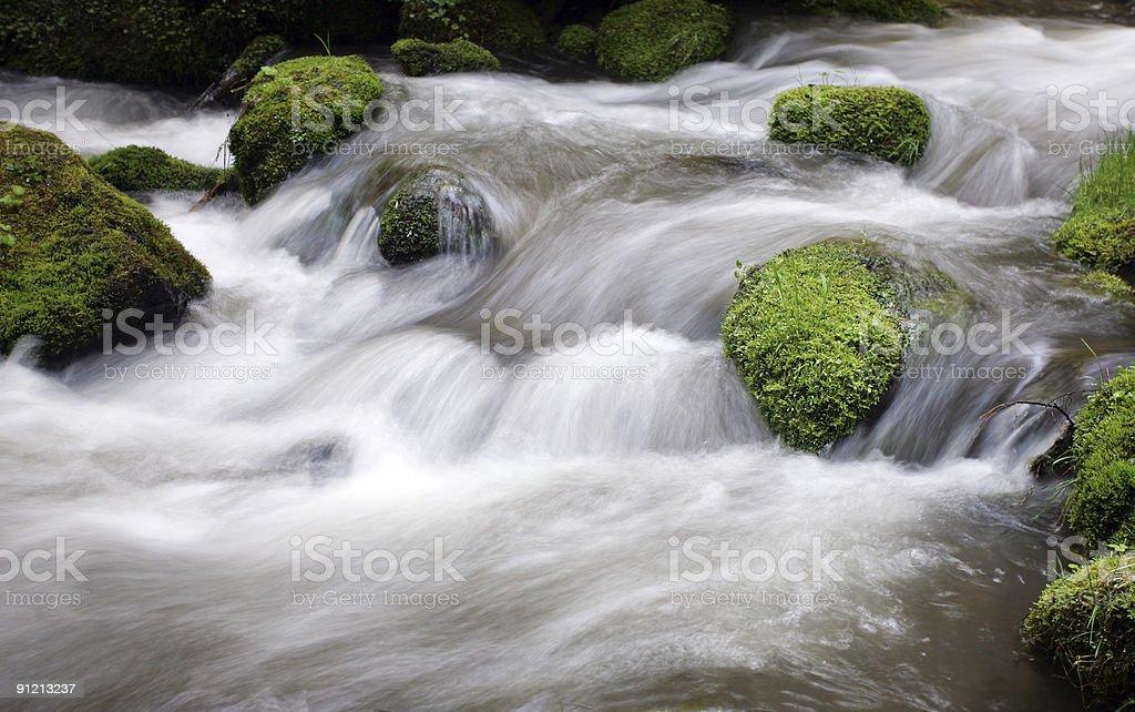 Wild creek royalty-free stock photo