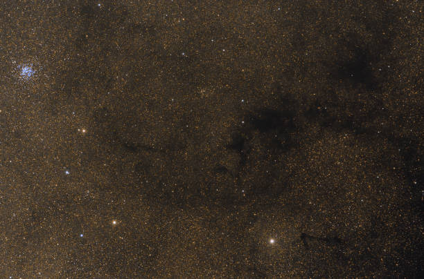 Wild Duck cluster of stars against stars of mily way – zdjęcie
