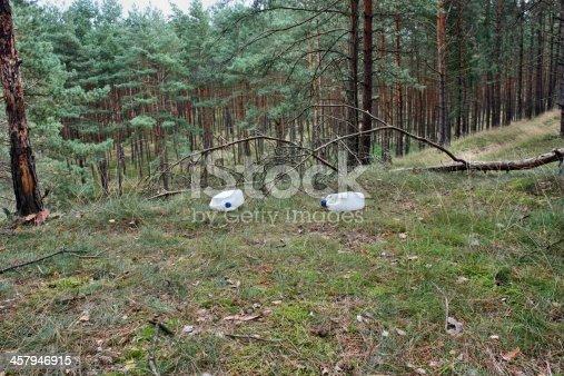 istock Wild dump forest 457946915