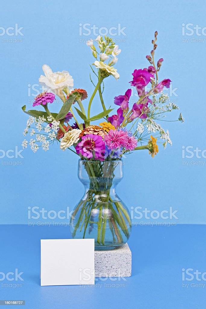 Wild Flower Bouquet royalty-free stock photo