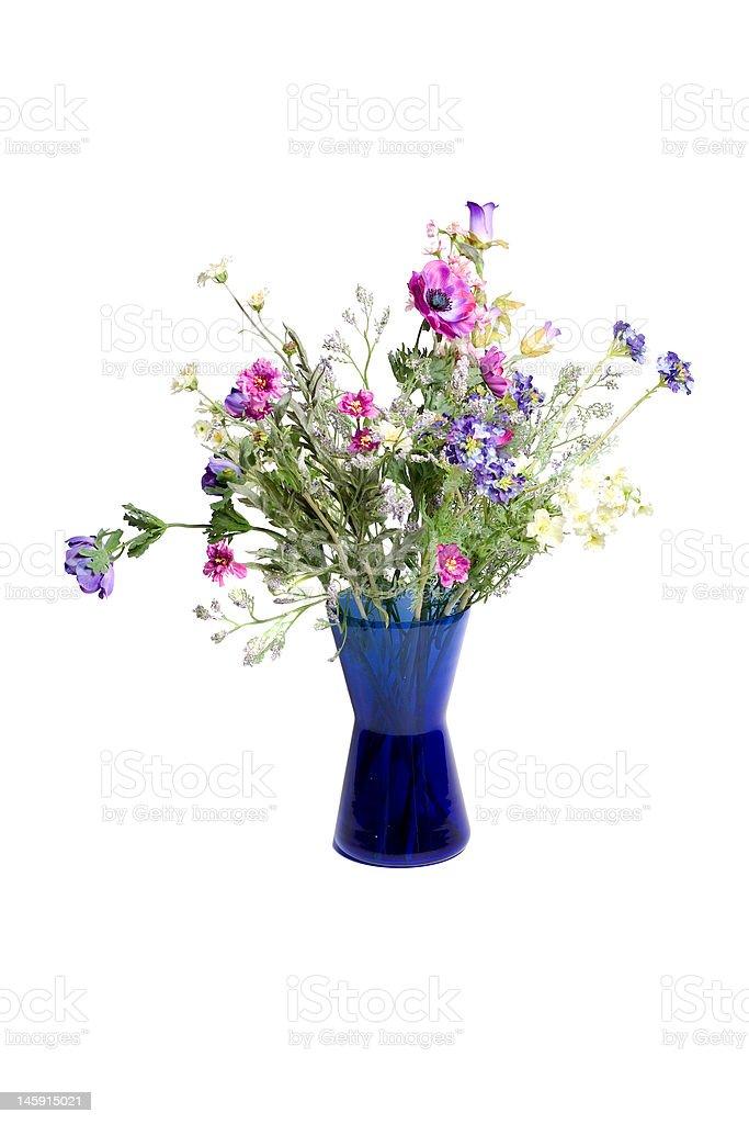 Wild flowers in vase 2 royalty-free stock photo
