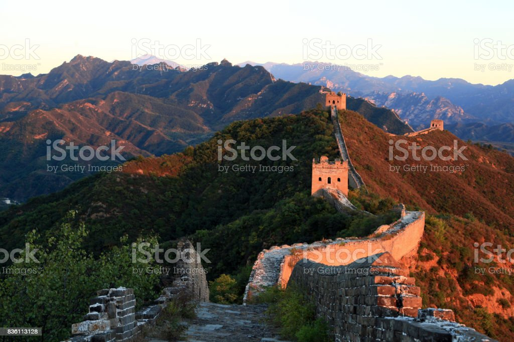Gran muralla salvaje - foto de stock