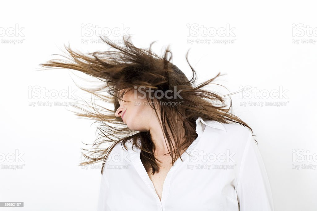 Wild Hair stock photo