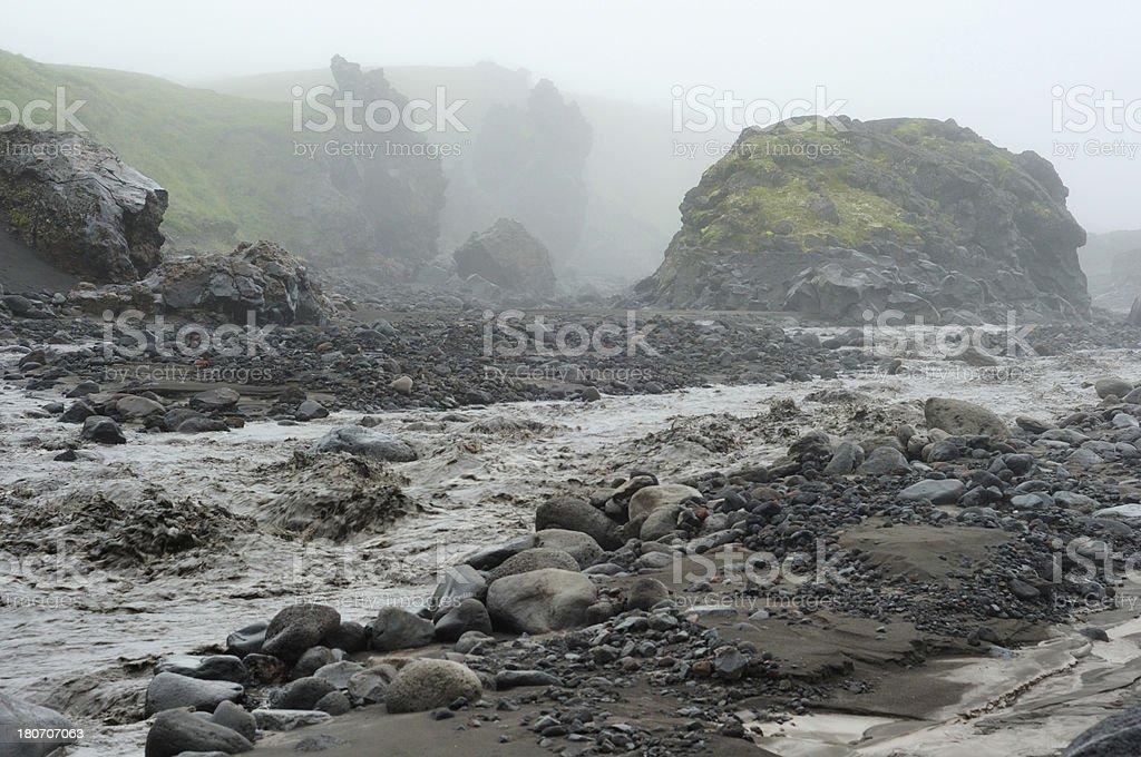 Wild Kamchatka landscape royalty-free stock photo