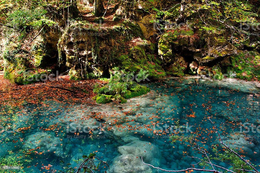 Parque acuático Río salvaje en Navarra - foto de stock