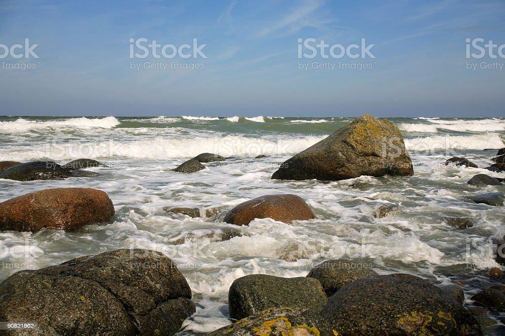 Wild Sea royalty-free stock photo