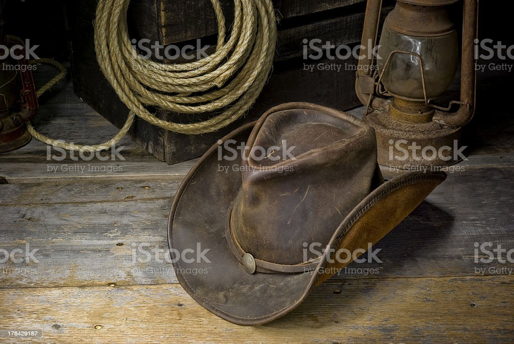 wild west living stock photo