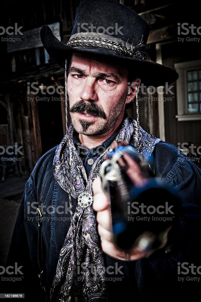 Wild West royalty-free stock photo